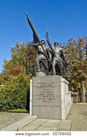Sculptural Composition Victory. Kaliningrad (koenigsberg Before 1946), Russia
