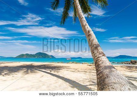 LAEM KA BEACH in Phuket island Thailand