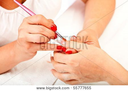 Artificial Nail Process