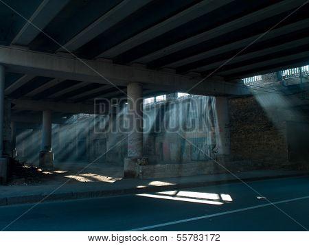 Sunlight From Under The Bridge