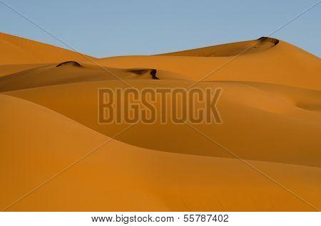 Dunes In Sahara Desert, Morocco