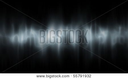 Editable vector background of a ghostly abstract stripe made using a gradient mesh