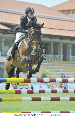 Premier Cup Equestrian Show Jumping Competition