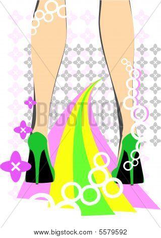 Female Feet Disco