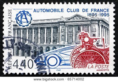 Postage Stamp France 1995 Automobile Club Of France