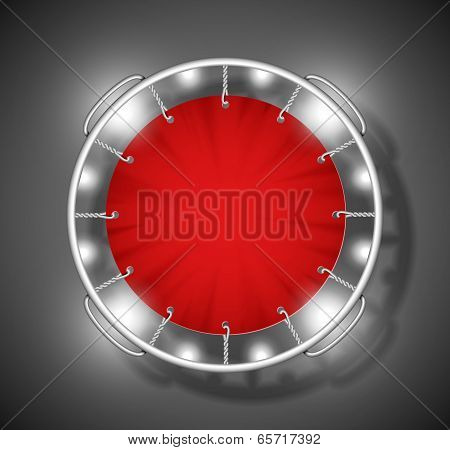 Red Trampoline