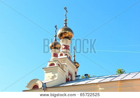 Cupola Of The Russian Church, Nizny Novgorod, Russia