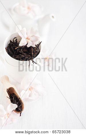 Oolong Tea Background