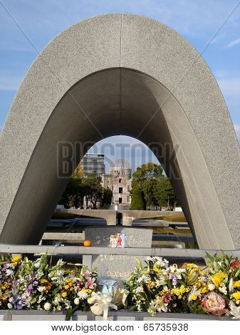 monument of Hiroshima Peace Park