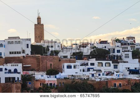 Cityscape of rabat