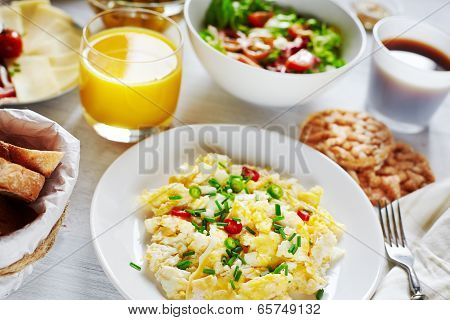 Healthy Nutricious Breakfast Food