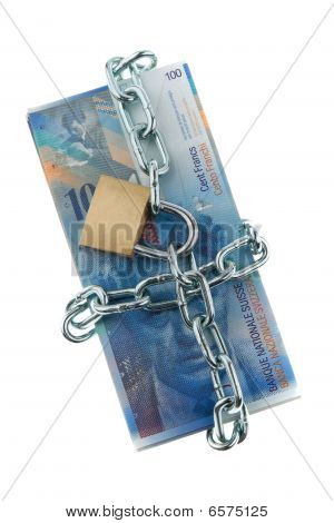 Locked Swiss Currency