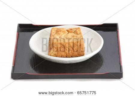 deep fried tofu bubble or bean curd tofu