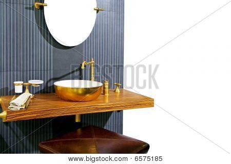 Brass Lavatory