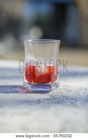 A Glass Of Campari