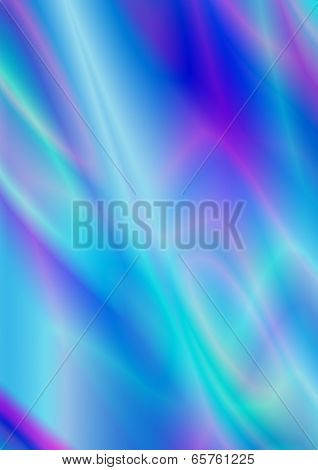 Satin iridescent background in bluish purple shades