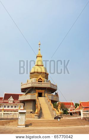 The pagoda of  Udon Thani