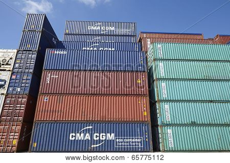 Container - Pile Of Containers