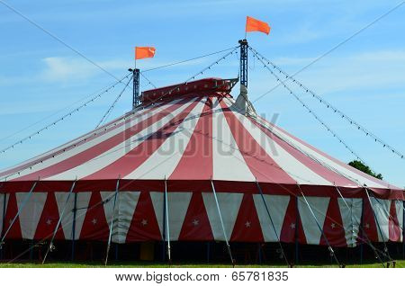Large Circus Big Top.