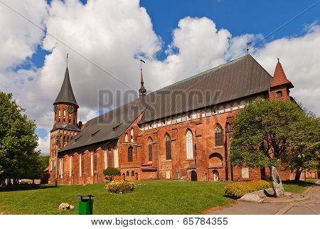Konigsberg Cathedral (1333) In Kaliningrad, Russia