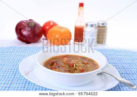 Chicken Gumbo Soup