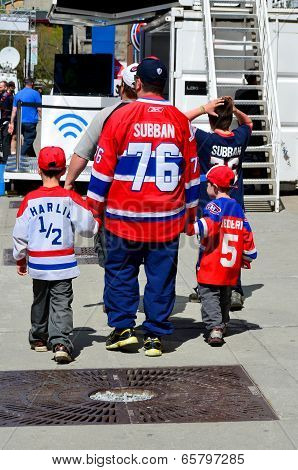 Montreal Canadiens fan