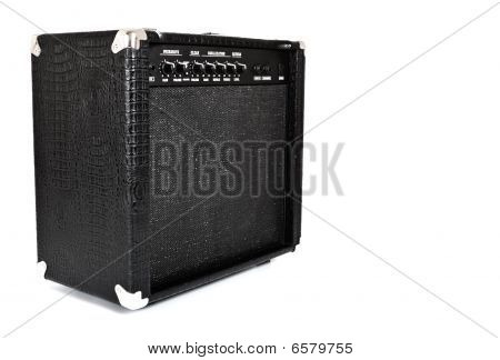 Black Guitar Amplifier