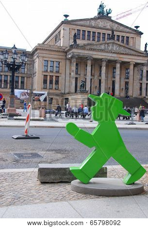 Ampelmannchen is little traffic light man