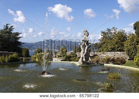 Pool In Castro Mount In Vigo
