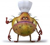 picture of germs  - Germ chef - JPG