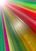 picture of divergent  - Abstract bright background with divergent colorful rays of glowing  angle - JPG