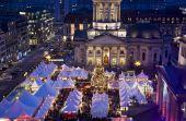 Постер, плакат: Берлина Жандарменмаркт Рождественский рынок