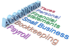 image of cpa  - Row of personal and small business accounting services - JPG