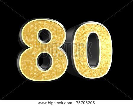 golden number 80