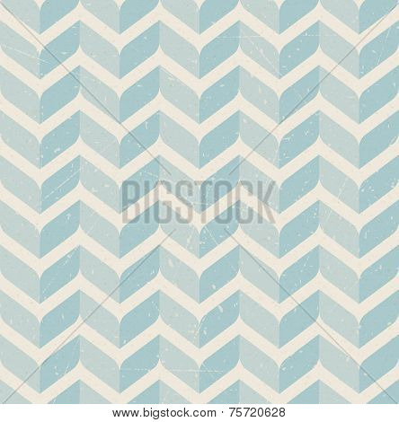 Vintage Retro Seamless Pattern On Paper Background