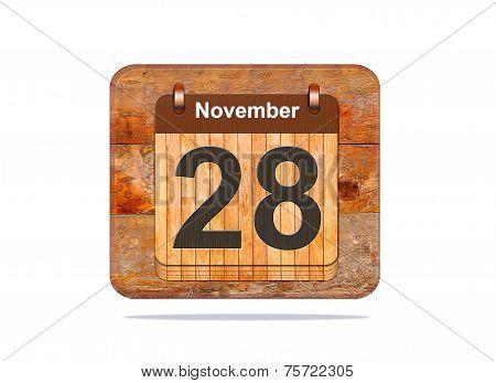 November 28.