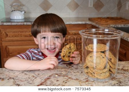 Sneaking A Cookie