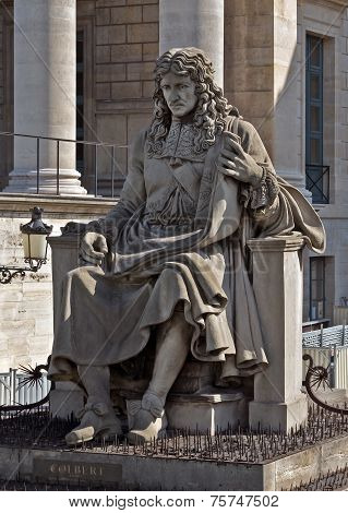 Paris - Statue Of Palais Bourbon