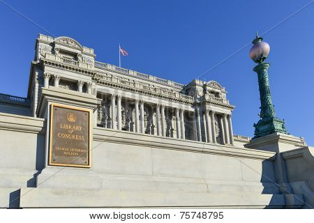 Washington DC - Library of Congress building