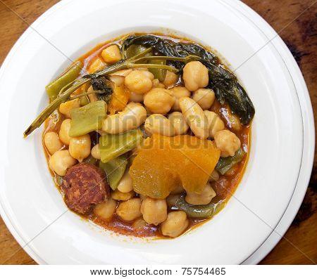 Berza Gaditana Stew (cádiz Cabbage).