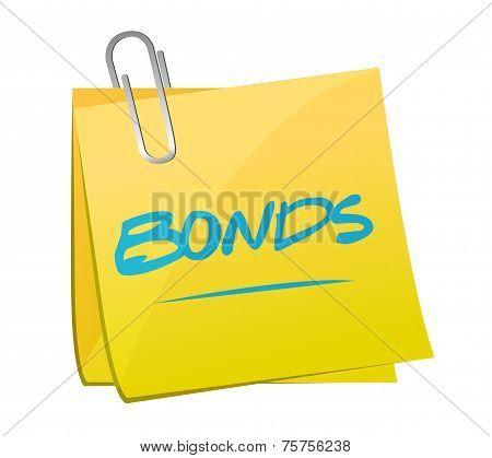 Bonds Post Illustration Design