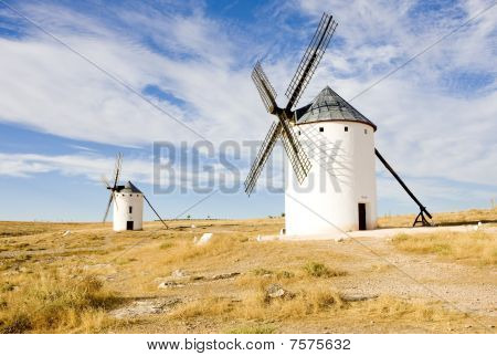 windmills Campo de Criptana