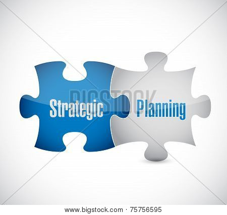Strategic Planning Puzzle Pieces