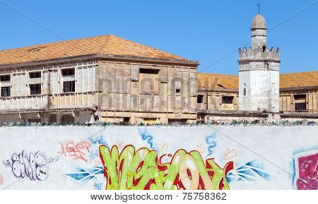 Abandoned Buildings With Mosque