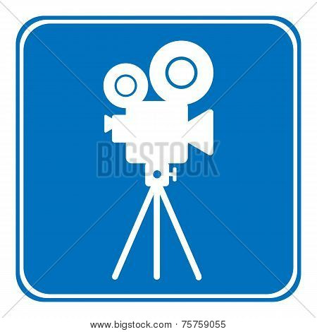 Video Camera Allowing Sign