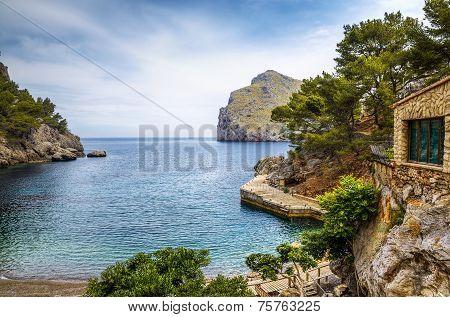 Sa Calobra harbour