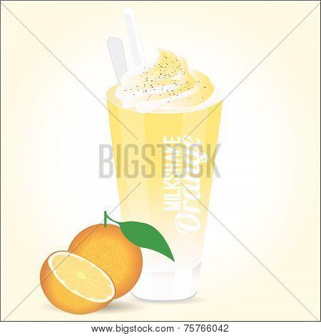 Milkshake orange