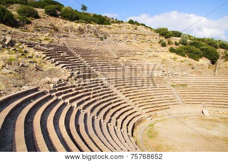 The Ancient Ruins Of Assos.