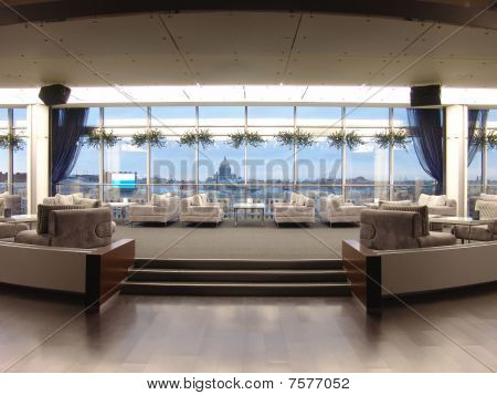 interior of a panoramic restaurant
