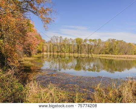 Autumn and Lake Conestee